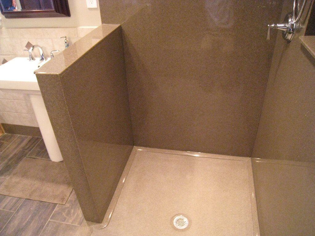 Bathroom wall tile panels
