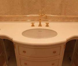 мебель для ванных из искусственного камня